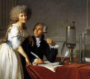 Lavoisier et sa femme (Portrait de David)