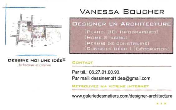 Vanessa Boucher - Designer en architeture