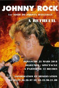 Affiche Johnny Rock